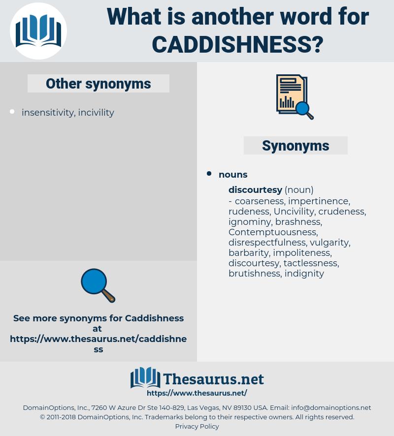 caddishness, synonym caddishness, another word for caddishness, words like caddishness, thesaurus caddishness