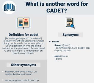 cadet, synonym cadet, another word for cadet, words like cadet, thesaurus cadet