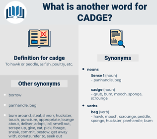cadge, synonym cadge, another word for cadge, words like cadge, thesaurus cadge