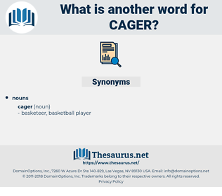 cager, synonym cager, another word for cager, words like cager, thesaurus cager