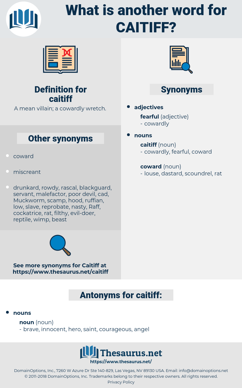caitiff, synonym caitiff, another word for caitiff, words like caitiff, thesaurus caitiff