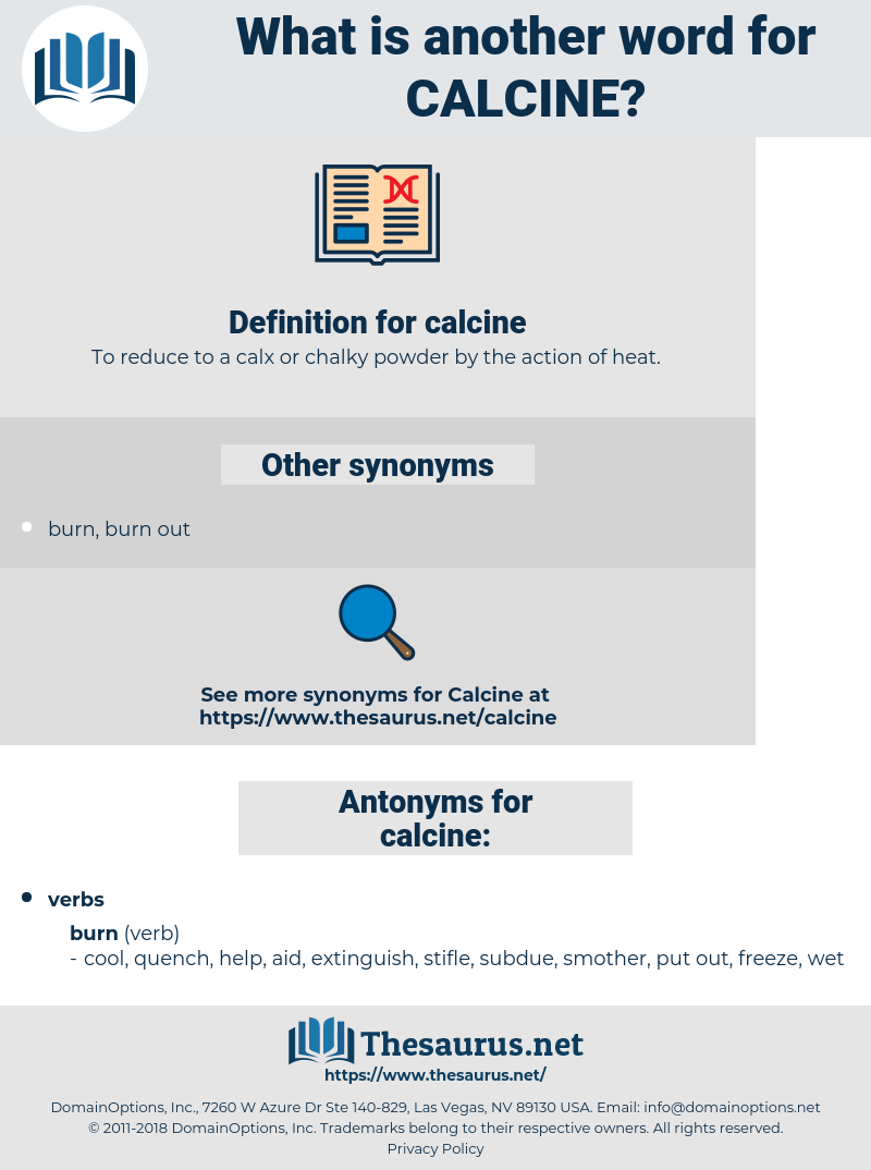 calcine, synonym calcine, another word for calcine, words like calcine, thesaurus calcine
