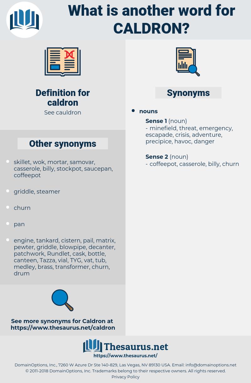 caldron, synonym caldron, another word for caldron, words like caldron, thesaurus caldron