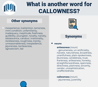 callowness, synonym callowness, another word for callowness, words like callowness, thesaurus callowness