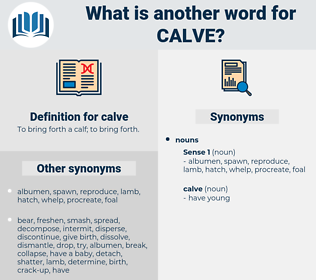 calve, synonym calve, another word for calve, words like calve, thesaurus calve