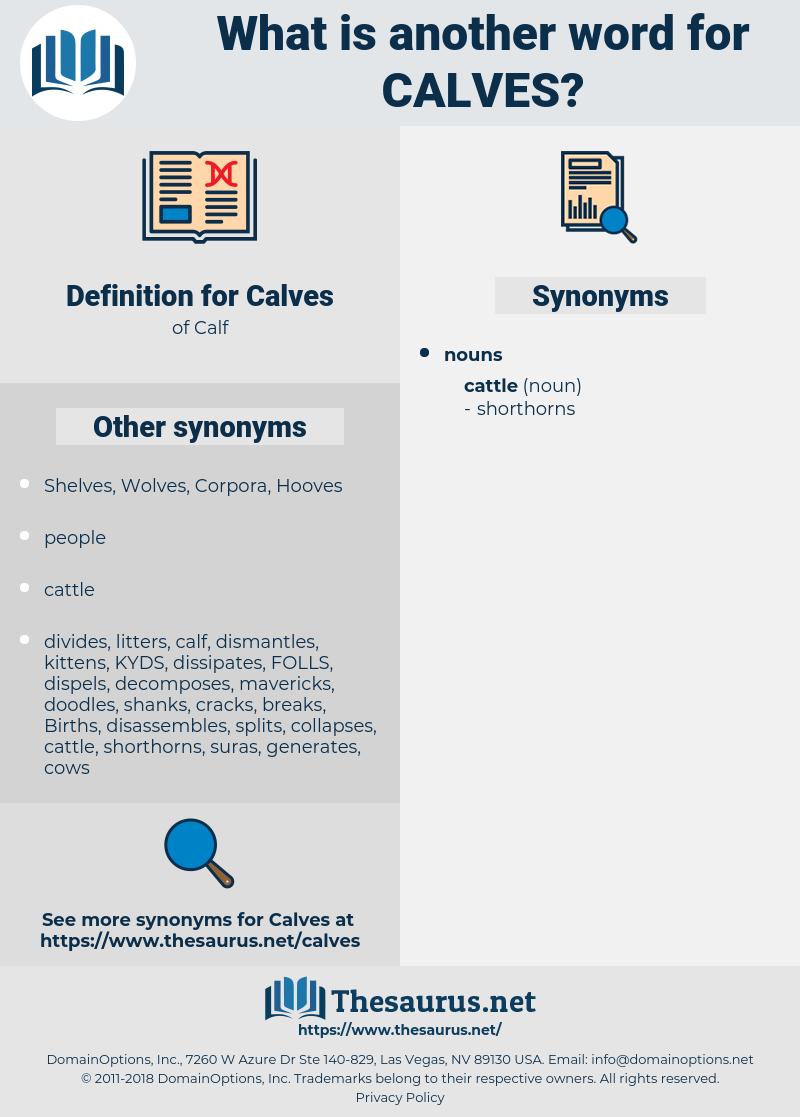 Calves, synonym Calves, another word for Calves, words like Calves, thesaurus Calves