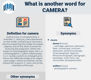 camera, synonym camera, another word for camera, words like camera, thesaurus camera