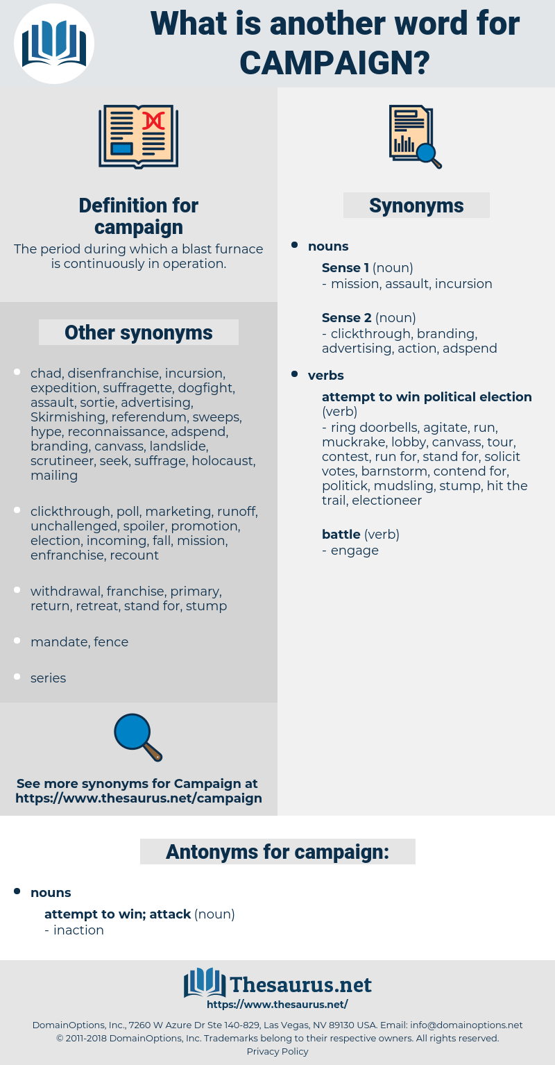 campaign, synonym campaign, another word for campaign, words like campaign, thesaurus campaign