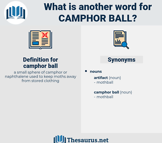 camphor ball, synonym camphor ball, another word for camphor ball, words like camphor ball, thesaurus camphor ball