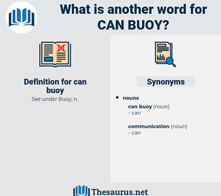 can buoy, synonym can buoy, another word for can buoy, words like can buoy, thesaurus can buoy