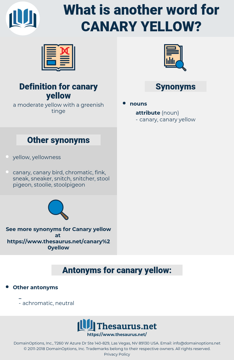 canary yellow, synonym canary yellow, another word for canary yellow, words like canary yellow, thesaurus canary yellow