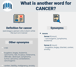 cancer, synonym cancer, another word for cancer, words like cancer, thesaurus cancer