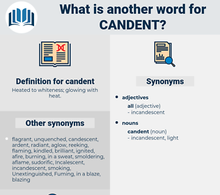 candent, synonym candent, another word for candent, words like candent, thesaurus candent