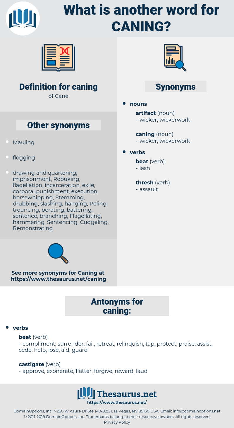 caning, synonym caning, another word for caning, words like caning, thesaurus caning