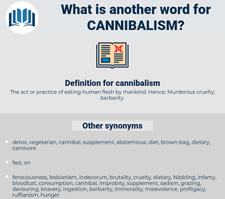 cannibalism, synonym cannibalism, another word for cannibalism, words like cannibalism, thesaurus cannibalism