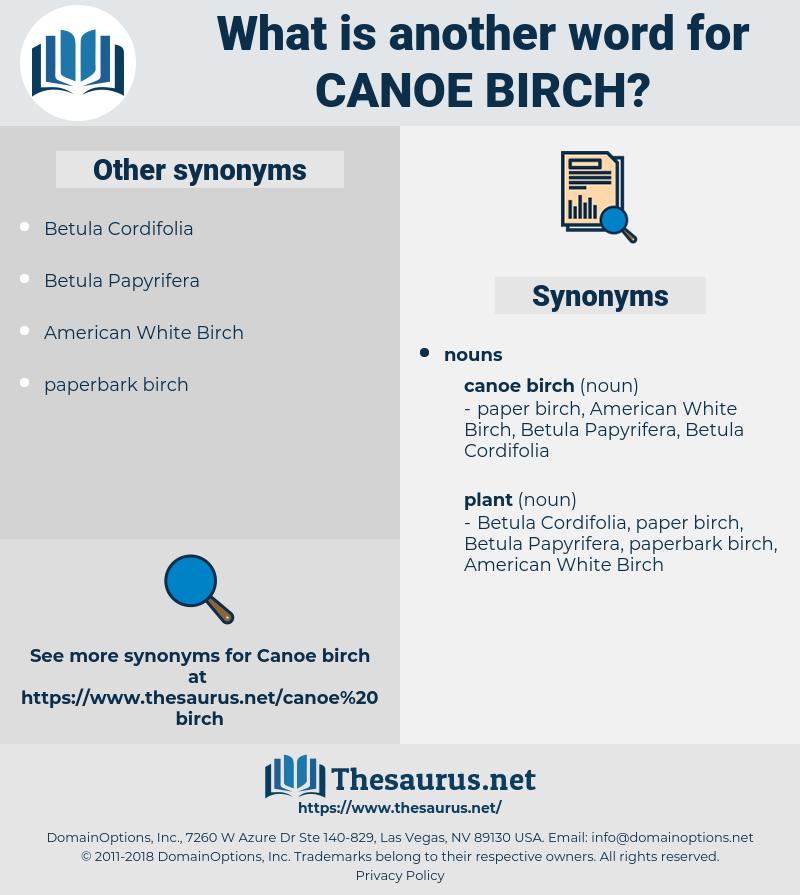 canoe birch, synonym canoe birch, another word for canoe birch, words like canoe birch, thesaurus canoe birch