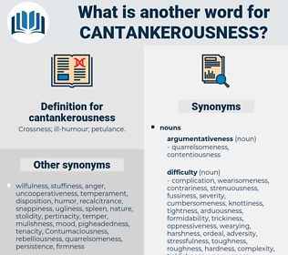 cantankerousness, synonym cantankerousness, another word for cantankerousness, words like cantankerousness, thesaurus cantankerousness