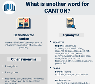 canton, synonym canton, another word for canton, words like canton, thesaurus canton