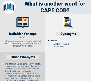 cape cod, synonym cape cod, another word for cape cod, words like cape cod, thesaurus cape cod