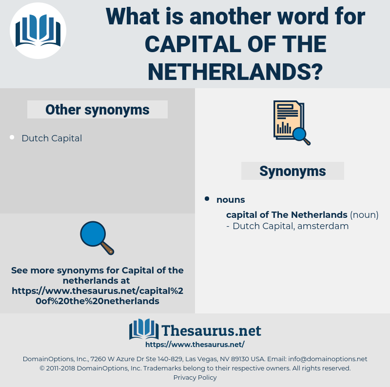 capital of the netherlands, synonym capital of the netherlands, another word for capital of the netherlands, words like capital of the netherlands, thesaurus capital of the netherlands