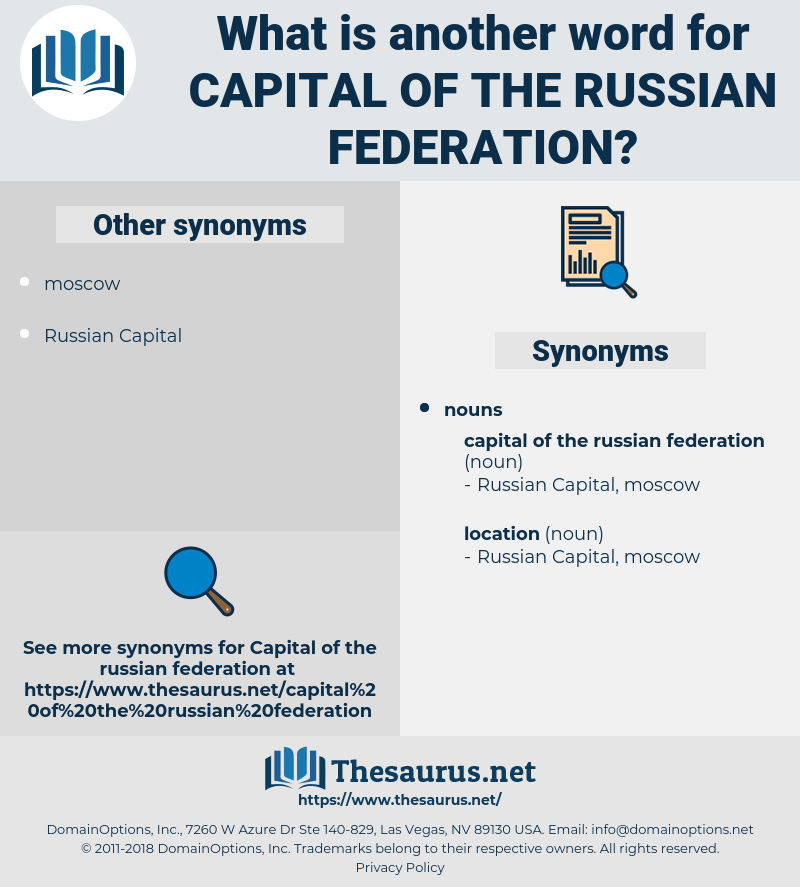 capital of the russian federation, synonym capital of the russian federation, another word for capital of the russian federation, words like capital of the russian federation, thesaurus capital of the russian federation