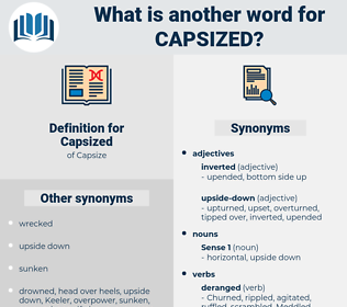 Capsized, synonym Capsized, another word for Capsized, words like Capsized, thesaurus Capsized
