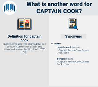 captain cook, synonym captain cook, another word for captain cook, words like captain cook, thesaurus captain cook