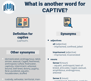 captive, synonym captive, another word for captive, words like captive, thesaurus captive