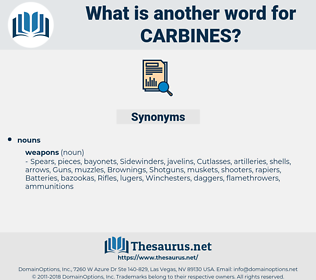 carbines, synonym carbines, another word for carbines, words like carbines, thesaurus carbines