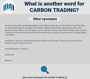 carbon trading, synonym carbon trading, another word for carbon trading, words like carbon trading, thesaurus carbon trading