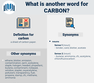 carbon, synonym carbon, another word for carbon, words like carbon, thesaurus carbon