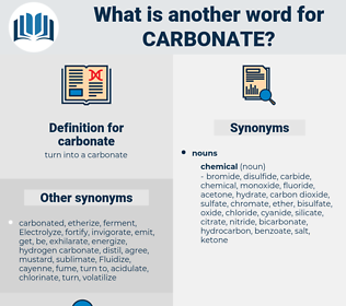carbonate, synonym carbonate, another word for carbonate, words like carbonate, thesaurus carbonate