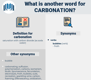 carbonation, synonym carbonation, another word for carbonation, words like carbonation, thesaurus carbonation