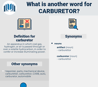 carburetor, synonym carburetor, another word for carburetor, words like carburetor, thesaurus carburetor