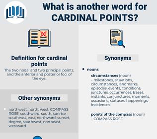 cardinal points, synonym cardinal points, another word for cardinal points, words like cardinal points, thesaurus cardinal points