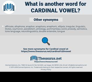 cardinal vowel, synonym cardinal vowel, another word for cardinal vowel, words like cardinal vowel, thesaurus cardinal vowel