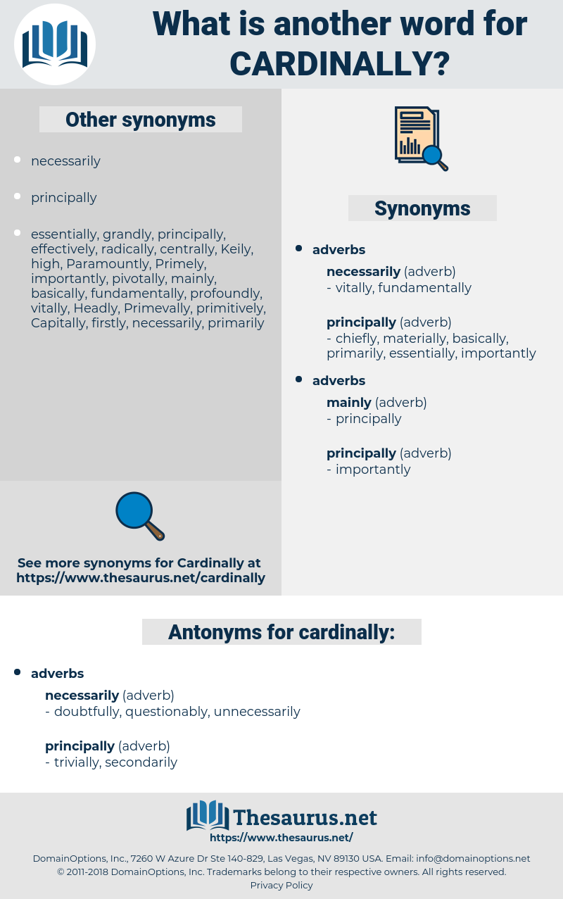cardinally, synonym cardinally, another word for cardinally, words like cardinally, thesaurus cardinally