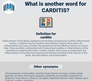carditis, synonym carditis, another word for carditis, words like carditis, thesaurus carditis