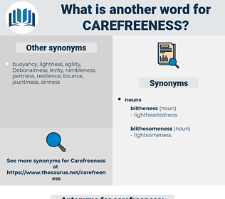 carefreeness, synonym carefreeness, another word for carefreeness, words like carefreeness, thesaurus carefreeness