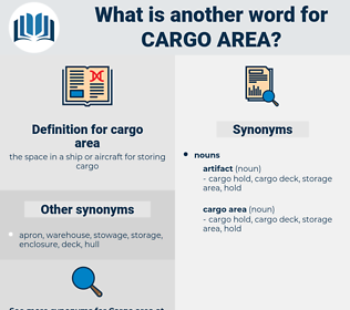 cargo area, synonym cargo area, another word for cargo area, words like cargo area, thesaurus cargo area