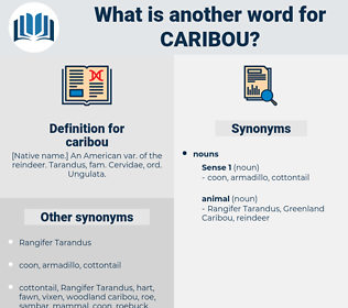 caribou, synonym caribou, another word for caribou, words like caribou, thesaurus caribou