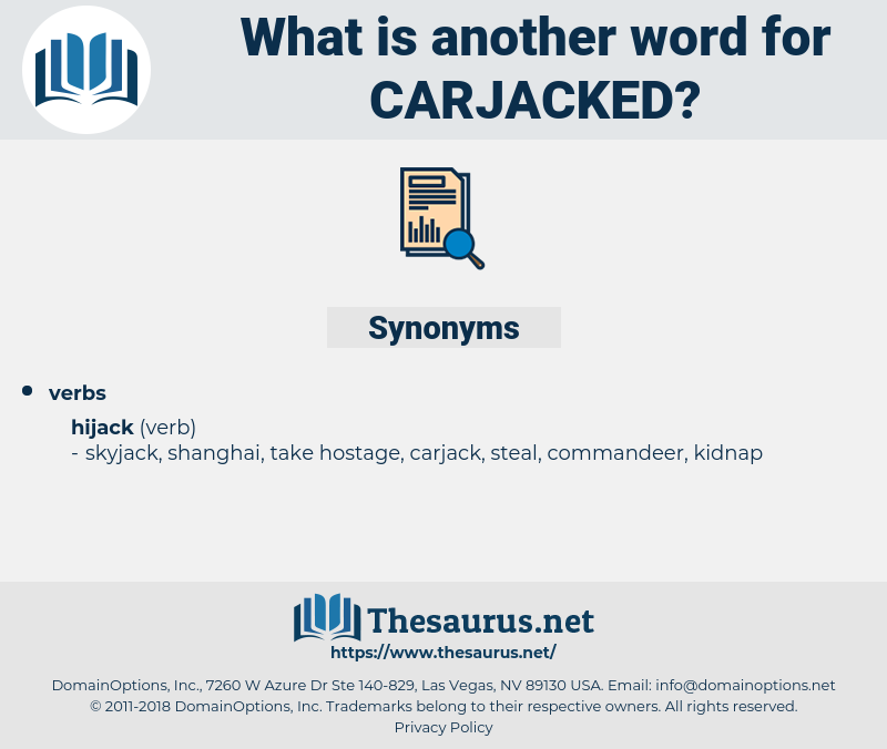 carjacked, synonym carjacked, another word for carjacked, words like carjacked, thesaurus carjacked