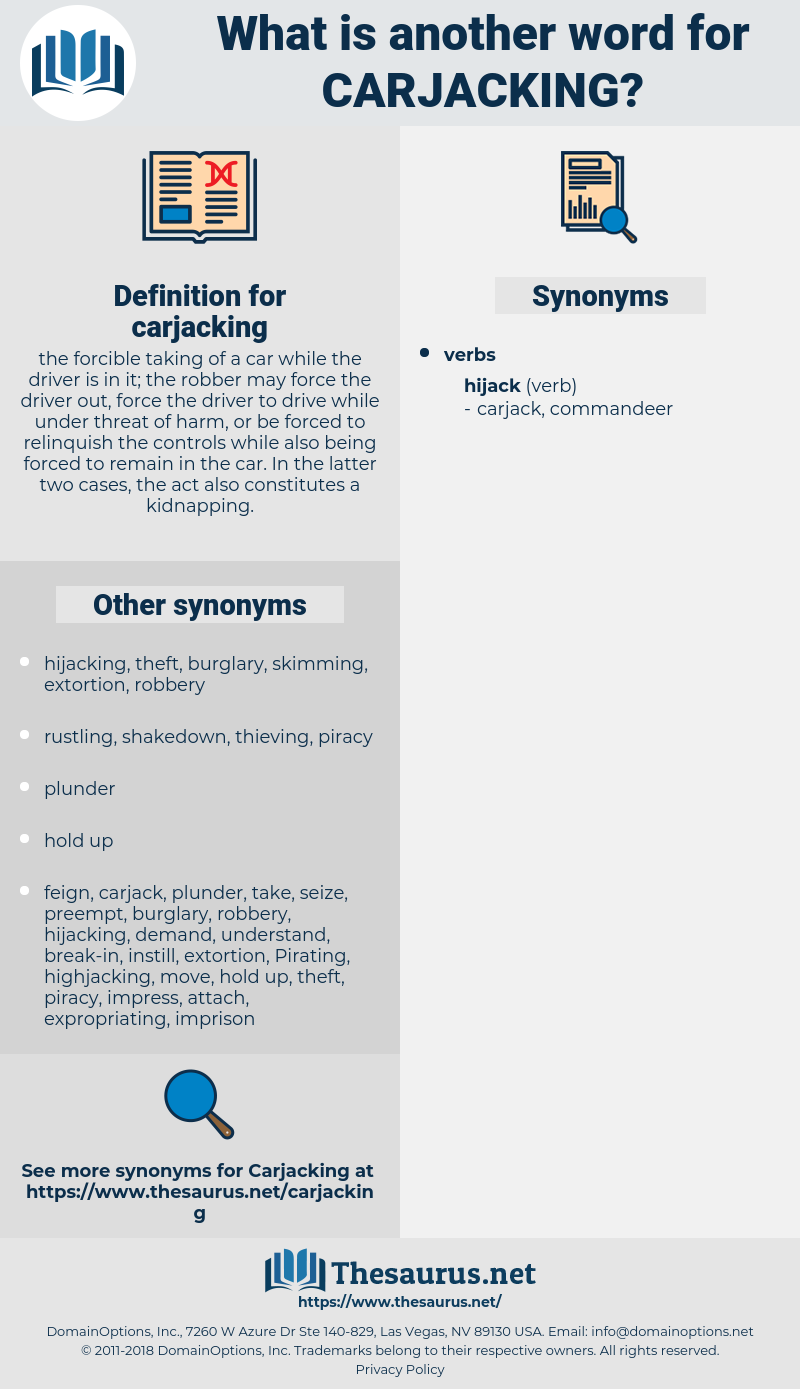 carjacking, synonym carjacking, another word for carjacking, words like carjacking, thesaurus carjacking