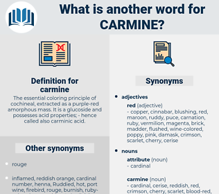 carmine, synonym carmine, another word for carmine, words like carmine, thesaurus carmine