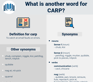 carp, synonym carp, another word for carp, words like carp, thesaurus carp