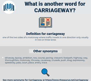 carriageway, synonym carriageway, another word for carriageway, words like carriageway, thesaurus carriageway