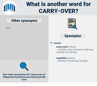carry-over, synonym carry-over, another word for carry-over, words like carry-over, thesaurus carry-over
