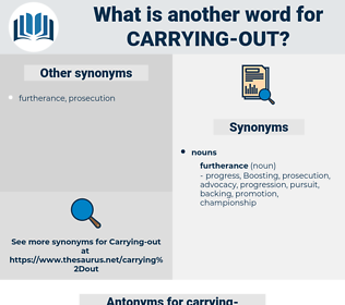 carrying out, synonym carrying out, another word for carrying out, words like carrying out, thesaurus carrying out