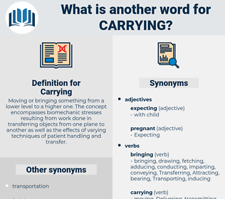 Carrying, synonym Carrying, another word for Carrying, words like Carrying, thesaurus Carrying