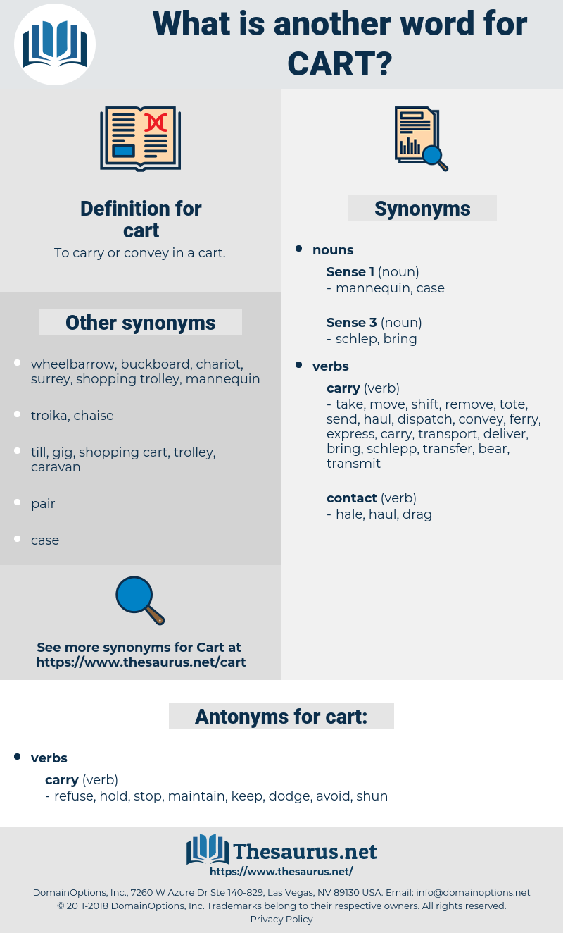 cart, synonym cart, another word for cart, words like cart, thesaurus cart
